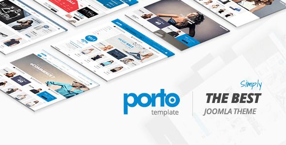 Download Porto - Ultimate Responsive Joomla Template Responsive Joomla Templates