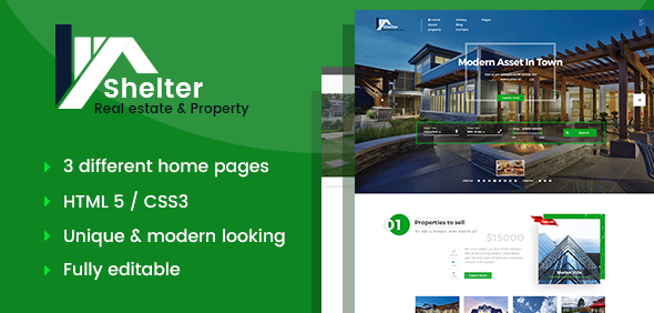Download Shelter - Real Estate & Property HTML Template Amp Html Templates