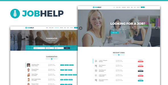 Download Jobhelp – Job Board WordPress Theme Job WordPress Themes