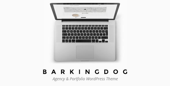 Download BarkingDog - Agency & Portfolio WordPress Theme 3 Column WordPress Themes