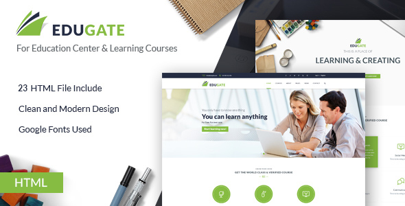 Download Education HTML template | EduGate Education Portal Html Templates