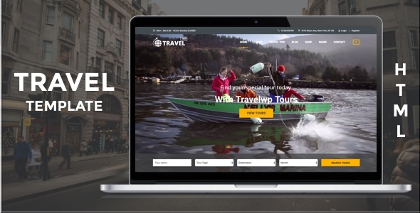 Download Travel HTML - Tour & Travel HTML Template for Travel Agency and Tour Operator Travel Html Templates
