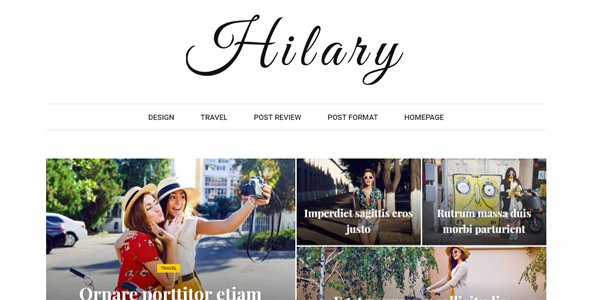 Download Hilary - Fast - Clean - Flexible WordPress Magazine News Blog Theme Fast WordPress Themes