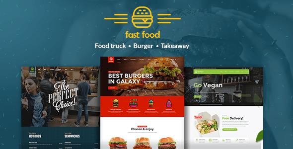 Download Fast Food - WordPress Fast Food Theme Fast WordPress Themes