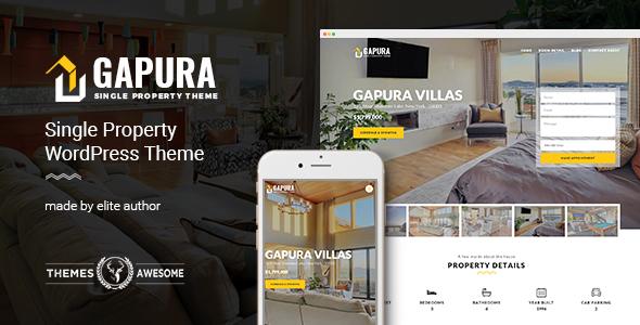 Download Single Property WordPress Theme - Gapura Property WordPress Themes
