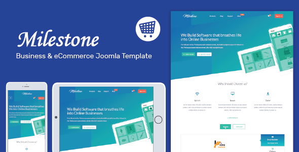 Download Milestone - Responsive Multi-purpose Joomla Template Elegant Joomla Templates