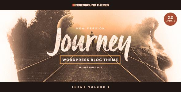 Download Journey - Personal WordPress Blog Theme Travel Blogger Templates