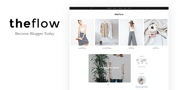 Download TheFlow - Blog HTML Template Blog Html Templates