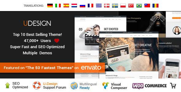 Download uDesign - Responsive WordPress Theme Responsive WordPress Themes
