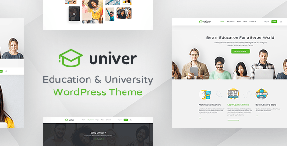 Download University WordPress Theme - Univer University WordPress Themes