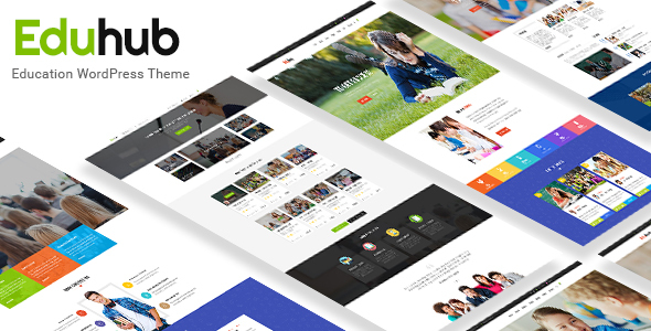 Download Eduhub - Responsive Sensei Education WordPress Theme Education WordPress Themes
