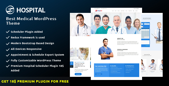 Download Hospital - Best Medical WordPress Theme Hospital WordPress Themes