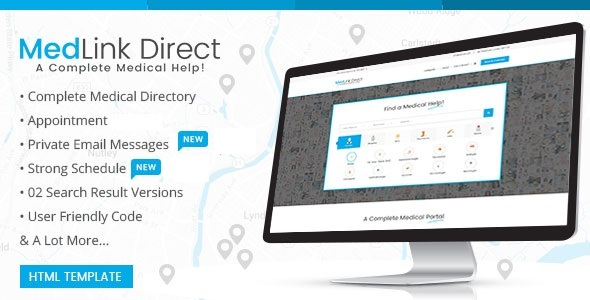 Download Doctor Directory - HTML Template Directory Html Templates