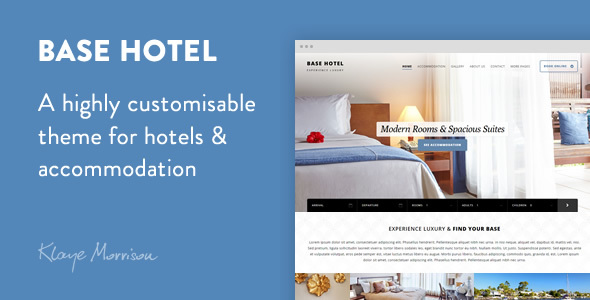Download Base Hotel - WordPress Theme Hotel WordPress Themes