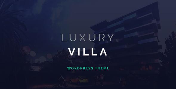 Download Luxury Villa - Property Showcase WordPress Theme Property WordPress Themes