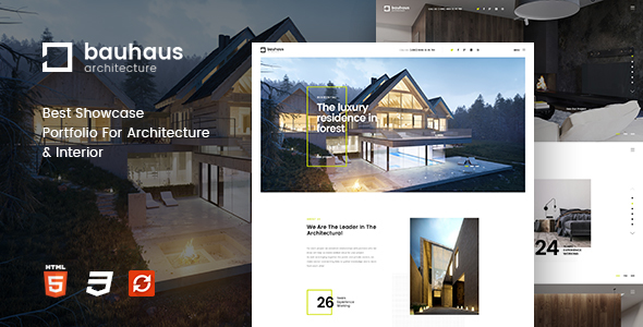 Download Bauhaus - Architecture & Interior Template Furniture Html Templates