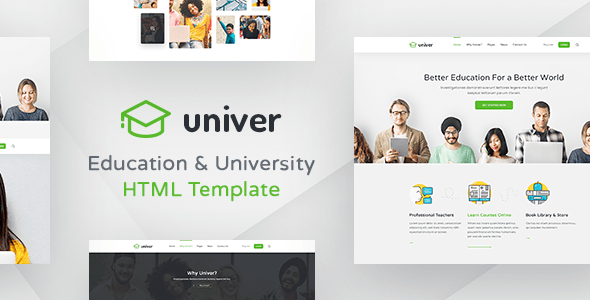 Download Univer - Education University Html Templates