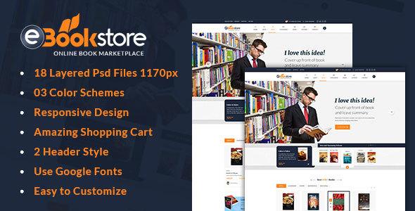 Download Book Store WordPress Theme - BookStore WP Store WordPress Themes