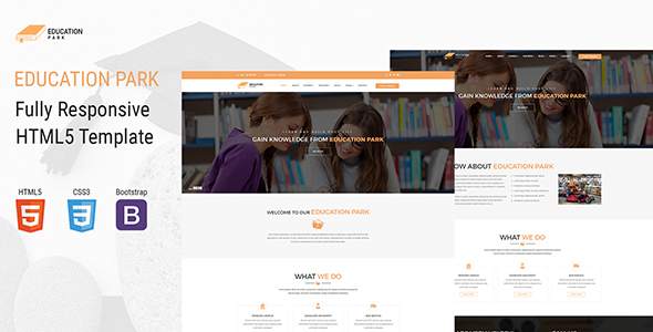 Download EducationPark - Education & University HTML Template University Html Templates