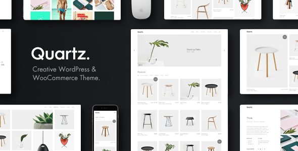 Download Quartz - Creative WooCommerce & WordPress Theme Amp WordPress Themes
