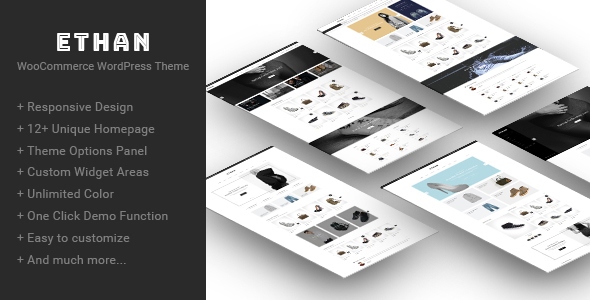 Download Ethan - Responsive WooCommerce WordPress Theme Woocommerce WordPress Themes