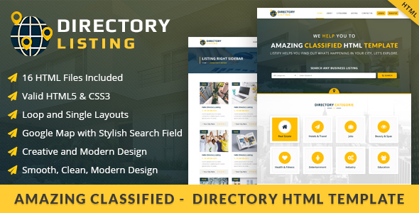 Download Viavi Directory Listing HTML  Template Directory Html Templates