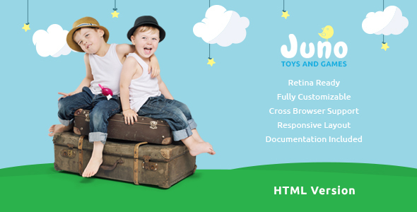 Download Juno | Kids Toys & Games Store Template Cute Html Templates