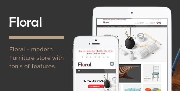 Download Floral - Furniture Store HTML Template Furniture Html Templates