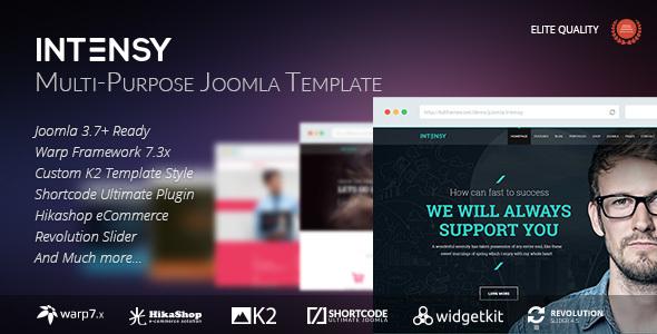Download Intensy - Multipurpose Joomla Template Portal Joomla Templates