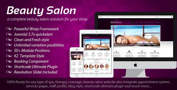 Download Beauty Salon - Responsive Joomla Template Responsive Joomla Templates
