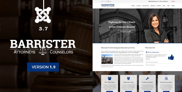 Download Barrister - Responsive Law Business Joomla Template Directory Joomla Templates