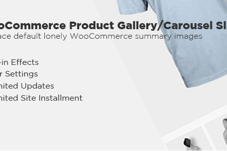 woocommerce product gallery carousel slider