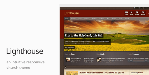Download Lighthouse - Church Charity Responsive Joomla Template Responsive Joomla Templates