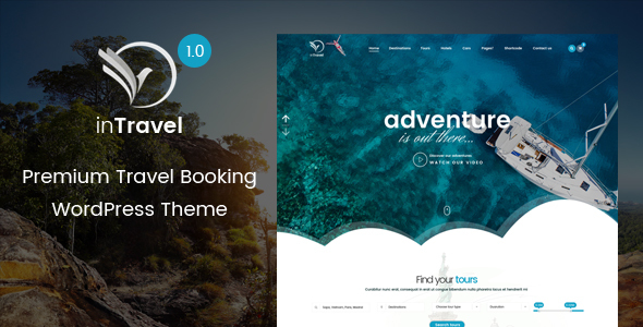 Download Travel WordPress Theme | Fullly functional Tour Booking Management Theme Travel WordPress Themes