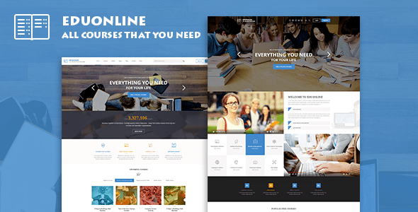 Download Eduonline - Education & University WordPress Theme University WordPress Themes