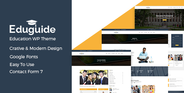 Download Eduguide – Education WordPress Theme Education WordPress Themes