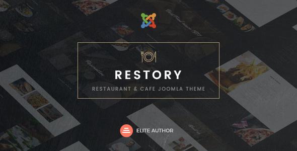 Download Restory - Restaurant & Cafe Joomla Template Restaurant Joomla Templates