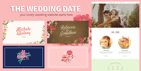 Download The Wedding Date - Responsive Wedding HTML Template Wedding Html Templates