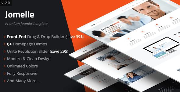 Download Jomelle | Multipurpose Business Joomla Template Modern Joomla Templates