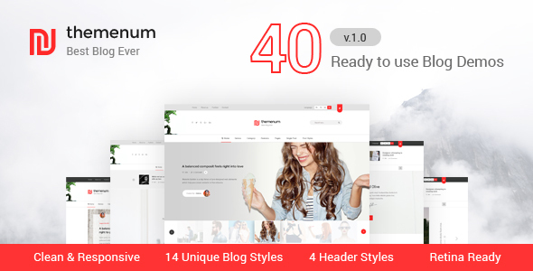 Download themenum - Responsive Blog HTML Template for Ads Businesses Adsense Html Templates