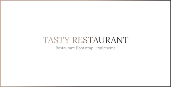 Download TASTY - RESTAURANT HTML TEMPLATE Restaurant Html Templates