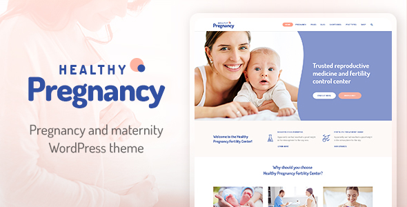 Download Healthy Pregnancy - Health & Medical WordPress Theme Hospital WordPress Themes