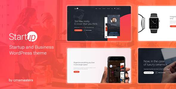Download Startup Company - WordPress Theme for Business & Technology Company WordPress Themes
