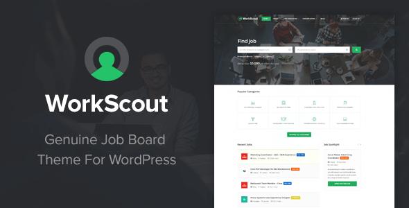 Download WorkScout - Job Board WordPress Theme Job WordPress Themes