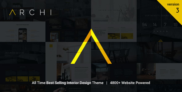Download Archi - Interior Design WordPress Theme Hospital WordPress Themes