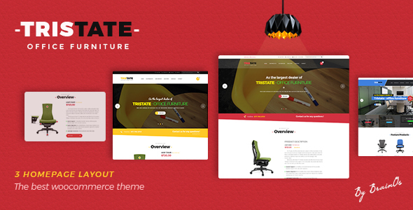Download Tristate - Office Furniture WooCommerce WordPress Theme Furniture WordPress Themes