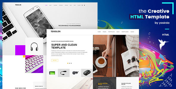Download Tensilon | Multipurpose Html Template Fast Load Html Templates