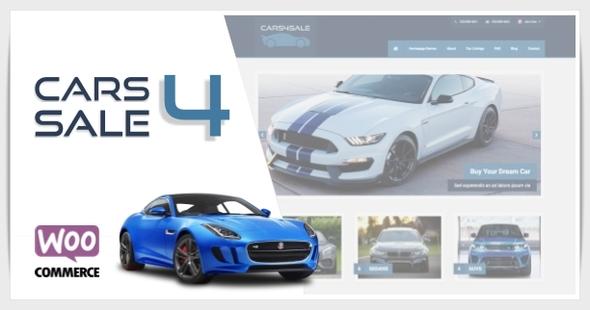 Download Cars4Sale - Automotive Car Dealership WordPress Theme Car WordPress Themes