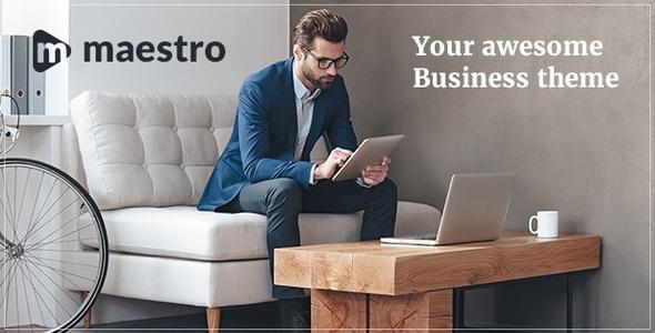 Download Business | Maestro Business WordPress Coming Soon WordPress Themes