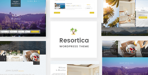 Download Resortica   Hotel WordPress Theme Hotel WordPress Themes